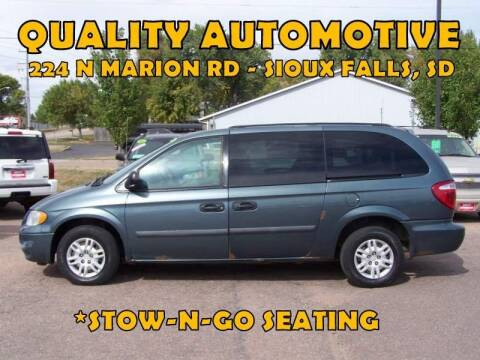 2006 Dodge Grand Caravan for sale at Quality Automotive in Sioux Falls SD