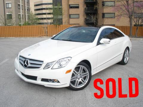 2010 Mercedes-Benz E-Class for sale at Autobahn Motors USA in Kansas City MO