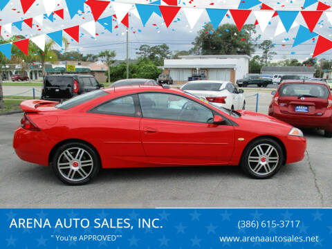 2002 Mercury Cougar for sale at ARENA AUTO SALES,  INC. in Holly Hill FL