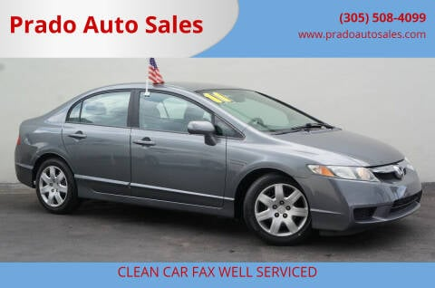 2011 Honda Civic for sale at Prado Auto Sales in Miami FL