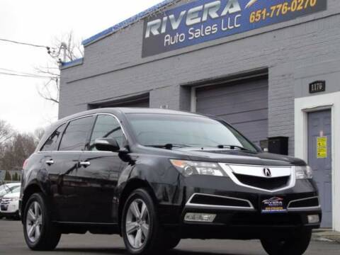 2011 Acura MDX for sale at Rivera Auto Sales LLC in Saint Paul MN