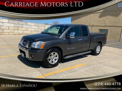 2005 Nissan Titan for sale at Carriage Motors LTD in Ingleside IL