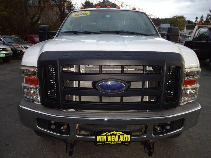 2008 Ford F-250 Super Duty for sale at MOUNTAIN VIEW AUTO in Lyndonville VT