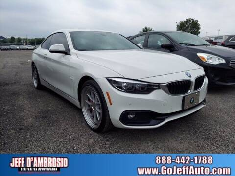 2018 BMW 4 Series for sale at Jeff D'Ambrosio Auto Group in Downingtown PA