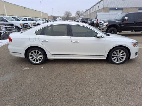 2012 Volkswagen Passat for sale at LENZ TRUCK CENTER in Fond Du Lac WI