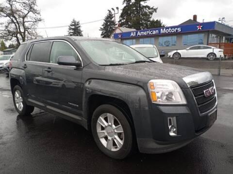 2011 GMC Terrain for sale at All American Motors in Tacoma WA