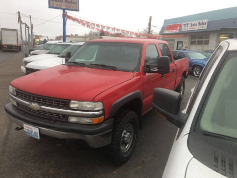 2002 Chevrolet Silverado 1500HD for sale at TTT Auto Sales in Spokane WA