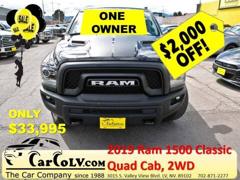 2019 RAM Ram Pickup 1500 Classic for sale at The Car Company in Las Vegas NV
