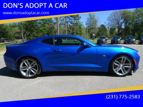 2017 Chevrolet Camaro for sale at DON'S ADOPT A CAR in Cadillac MI