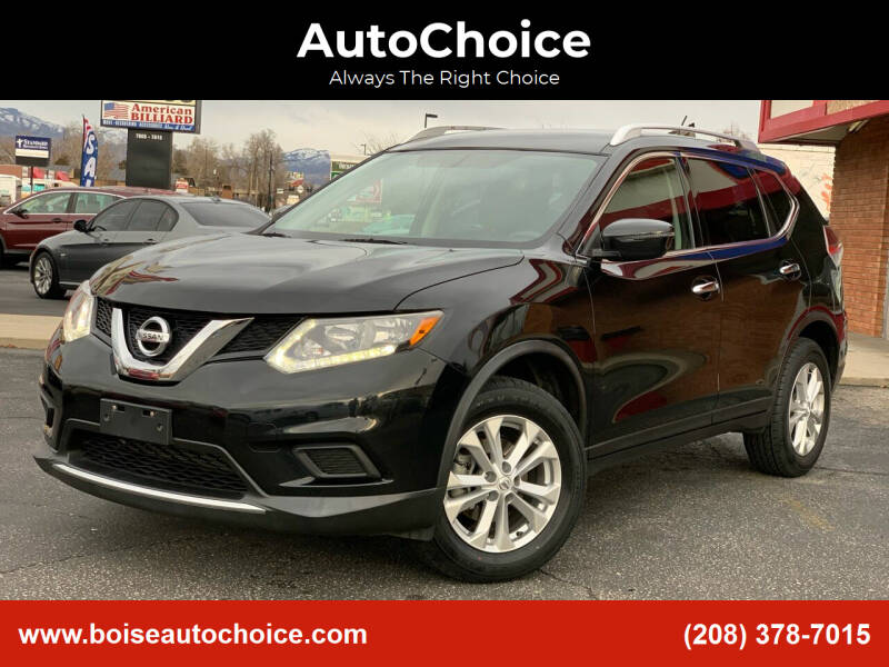 2016 Nissan Rogue for sale at AutoChoice in Boise ID