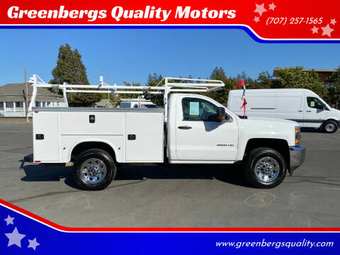 2016 Chevrolet Silverado 2500HD for sale at Greenbergs Quality Motors in Napa CA