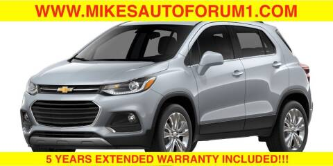 2017 Chevrolet Trax for sale at Mikes Auto Forum in Bensenville IL