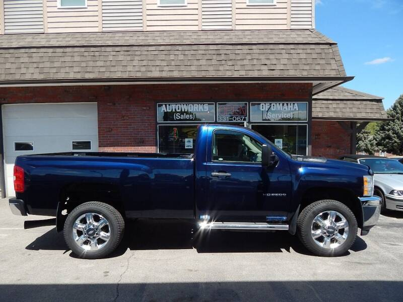 2012 Chevrolet Silverado 2500HD for sale at AUTOWORKS OF OMAHA INC in Omaha NE