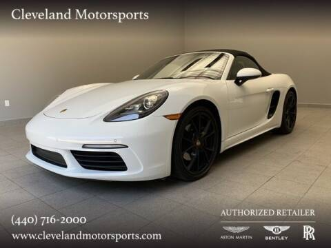 2017 Porsche 718 Boxster for sale at Drive Options in North Olmsted OH