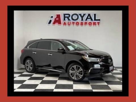 2017 Acura MDX for sale at Royal AutoSport in Sacramento CA