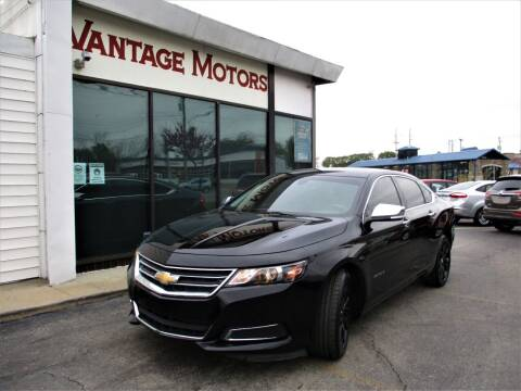 2017 Chevrolet Impala for sale at Vantage Motors LLC in Raytown MO