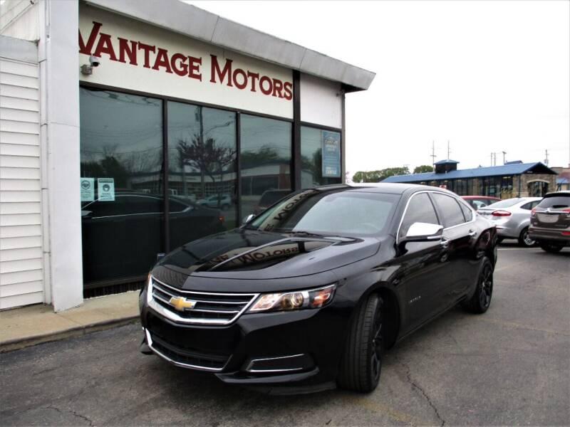 2017 Chevrolet Impala for sale at Vantage Motors LLC in Raytown MO