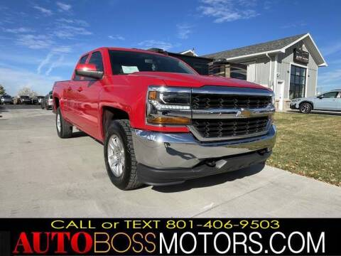 2019 Chevrolet Silverado 1500 LD for sale at Auto Boss in Woods Cross UT