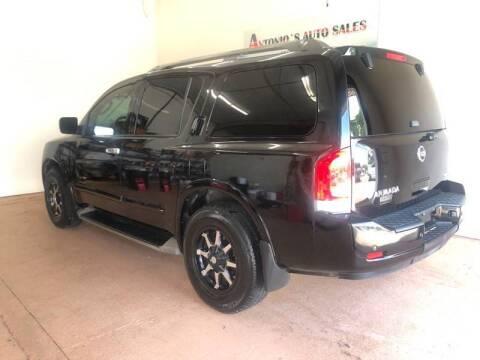 2012 Nissan Armada for sale at Antonio's Auto Sales - Antonio`s  3001 in Pasadena TX