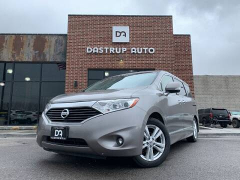 2013 Nissan Quest for sale at Dastrup Auto in Lindon UT