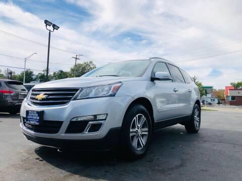 2017 Chevrolet Traverse for sale at Aurora Auto Center Inc in Aurora IL