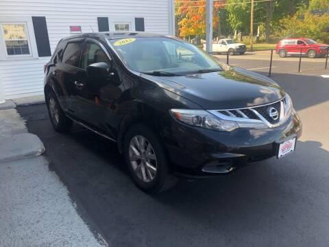 2012 Nissan Murano for sale at 5 Corner Auto Sales Inc. in Brockton MA