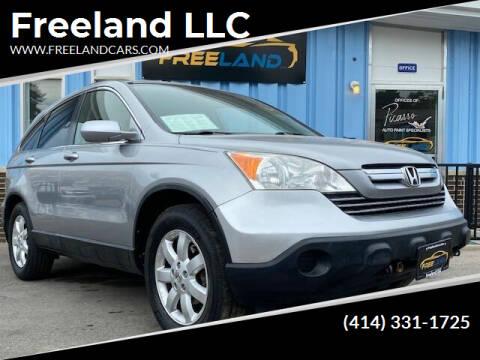2008 Honda CR-V for sale at Freeland LLC in Waukesha WI