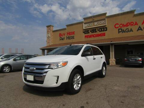 2014 Ford Edge for sale at Import Motors in Bethany OK