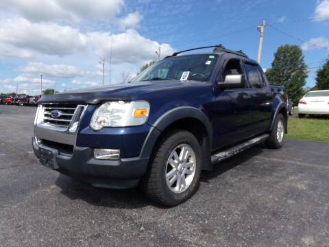 2008 Ford Explorer Sport Trac for sale at Pool Auto Sales Inc in Spencerport NY