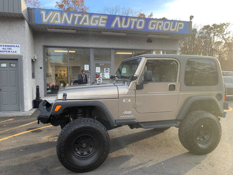 2006 Jeep Wrangler for sale at Vantage Auto Group in Brick NJ