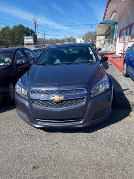2013 Chevrolet Malibu for sale at LAKE CITY AUTO SALES - Jonesboro in Morrow GA