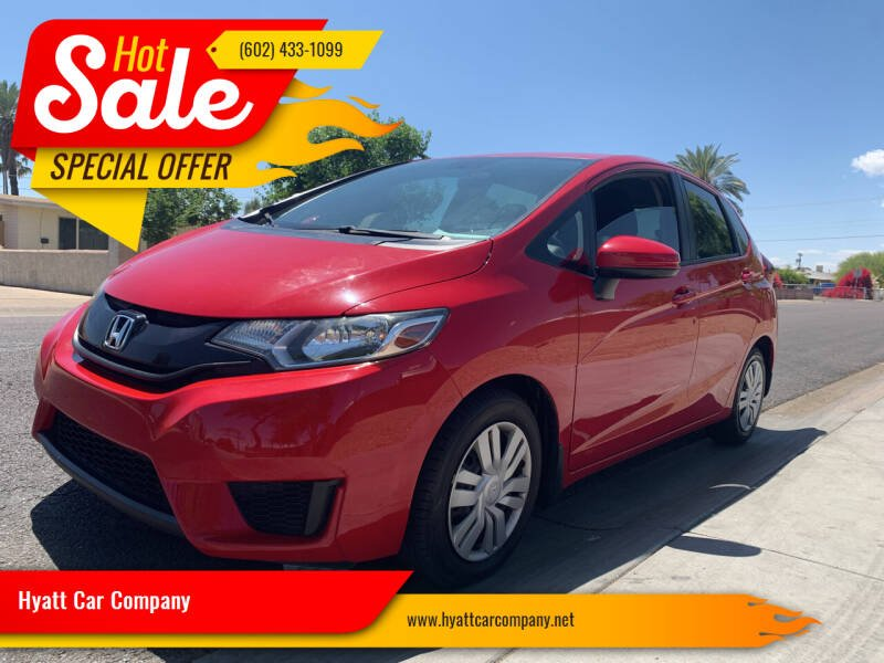 2016 Honda Fit for sale at Hyatt Car Company in Phoenix AZ