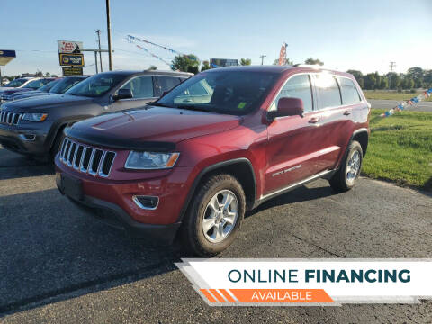 2014 Jeep Grand Cherokee for sale at Paris Auto Sales & Service in Big Rapids MI