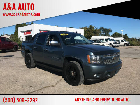 2009 Chevrolet Avalanche for sale at A&A AUTO in Fairhaven MA
