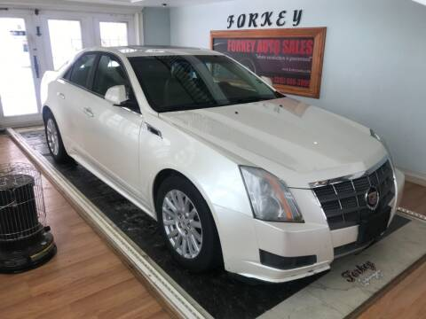 2011 Cadillac CTS for sale at Forkey Auto & Trailer Sales in La Fargeville NY