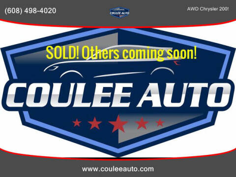 2015 Chrysler 200 for sale at Coulee Auto in La Crosse WI