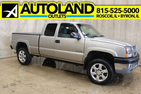 2003 Chevrolet Silverado 2500HD for sale at AutoLand Outlets Inc in Roscoe IL