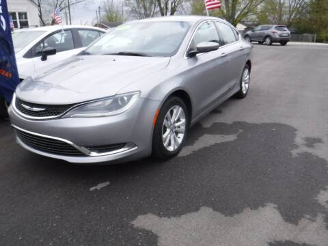 2015 Chrysler 200 for sale at Rob Co Automotive LLC in Springfield TN