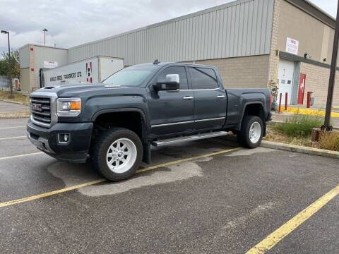 2017 GMC Sierra 2500HD for sale at Truck Buyers in Magrath AB