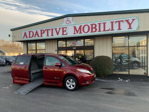 2014 Toyota Sienna for sale at Adaptive Mobility Wheelchair Vans in Seekonk MA