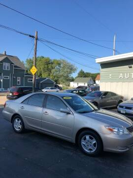 2003 Toyota Camry for sale at SHEFFIELD MOTORS INC in Kenosha WI