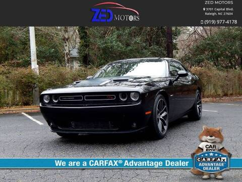 2015 Dodge Challenger for sale at Zed Motors in Raleigh NC