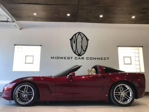 2005 Chevrolet Corvette for sale at Midwest Car Connect in Villa Park IL