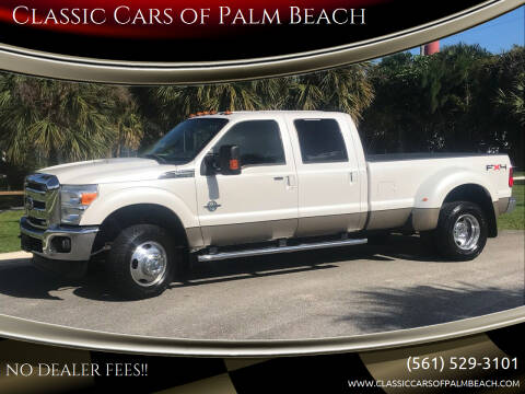 2011 Ford F-350 Super Duty for sale at Classic Cars of Palm Beach in Jupiter FL