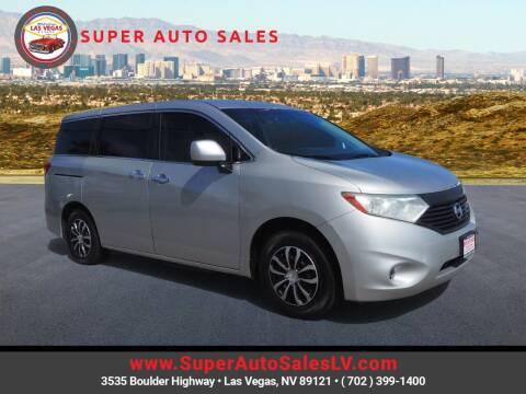 2015 Nissan Quest for sale at Super Auto Sales in Las Vegas NV