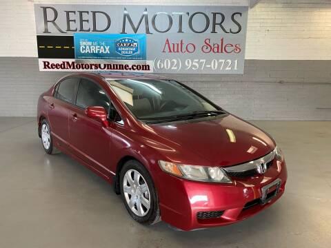 2010 Honda Civic for sale at REED MOTORS LLC in Phoenix AZ