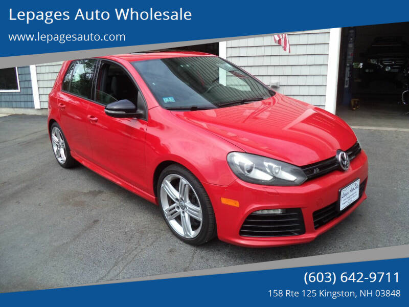 2013 Volkswagen Golf R for sale at Lepages Auto Wholesale in Kingston NH