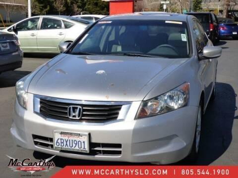 2008 Honda Accord for sale at McCarthy Wholesale in San Luis Obispo CA