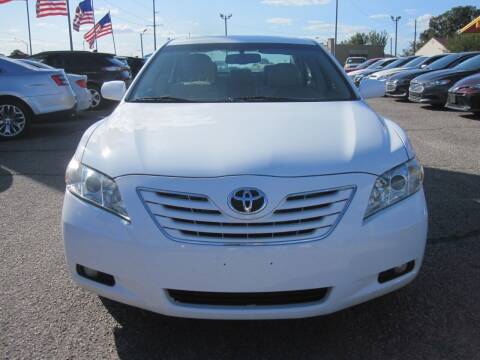 2007 Toyota Camry for sale at T & D Motor Company in Bethany OK