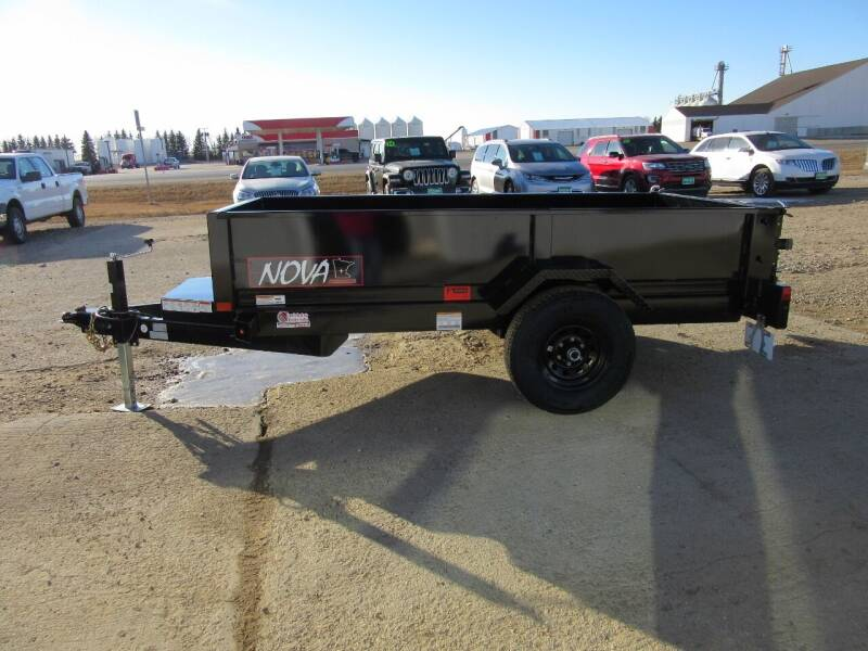 """2021 Midsota 60"""" x 10' for sale at Nore's Auto & Trailer Sales - Dump Trailers in Kenmare ND"""